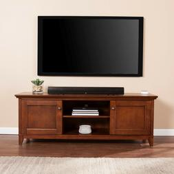 "CTS97927 WHISKY MAPLE LARGE 58 "" W TV/MEDIA STAND"