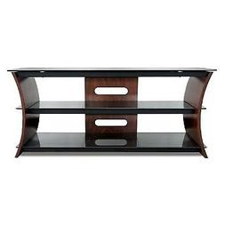 """Bell'O CW356 56"""" TV Stand for TVs up to 60"""", Caramel Brown"""