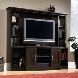 Dark Cherry TV Stand Entertainment Center Media Audio Storag