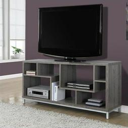 Dark Taupe Reclaimed-look 60-inch TV Console Taupe