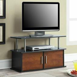 Convenience Concepts Deluxe 2 Door TV Stand with Cabinets