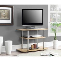 "Designs 2 Go Three-Tier TV Stand, for TVs up to 32"" by Conve"