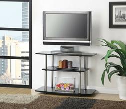 Convenience Concepts Designs2Go 3-Tier TV Stand, Black