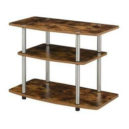 Convenience Concepts Designs2Go 3 Tier TV Stand in Barnwood