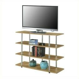 Designs2Go XL High Boy Black TV Stand for TVs up to 42