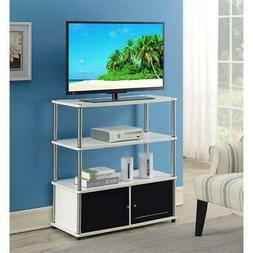 Convenience Concepts 151239W Designs2Go Highboy TV Stand, Wh