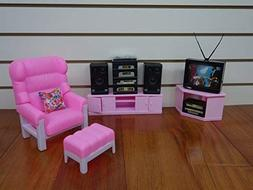 Barbie Doll Size Gloria Entertainment Play Set