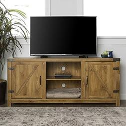 Home Accent Furnishings New 58 Inch Door Television Stand wi