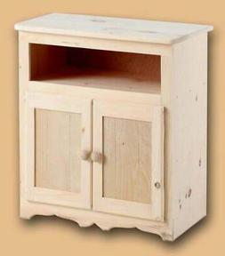 Dover Unfinished 32 in. TV Cabinet