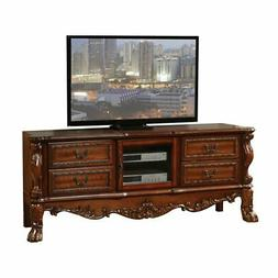 Acme   Dresden  91335 Set  Cherry TV-Entertainment Center