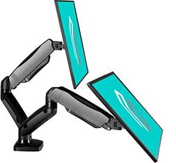 ONKRON Dual Monitor Desk Mount for 13 to 27-Inch LCD LED Com