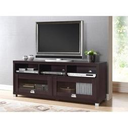 """Durbin Espresso Tv Stand, for Tvs up to 65"""""""