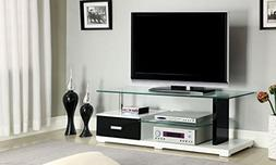 247SHOPATHOME IDF-5814-TV Television-Stands, Black