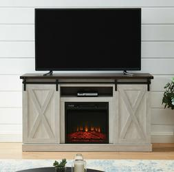Electric Fireplace TV Stand Media Storage Television Console