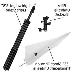 elite flash umbrella bracket kit