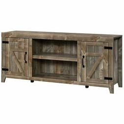 """Sauder Engineered Wood TV Stand For TVs Up To 70"""" in Rustic"""