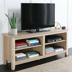 """Entertainment Center Home Theater 47"""" Media Console Storage"""