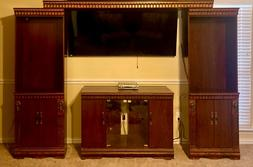 Entertainment Center wall unit with TV stand