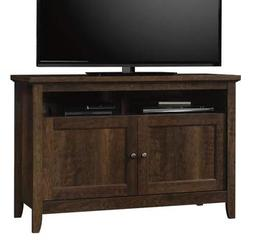 55 Inch Tv Stand - Estate Toffee Wood with Cabinet - Display