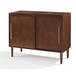Crosley Everett Bar Cabinet with Wine Storage