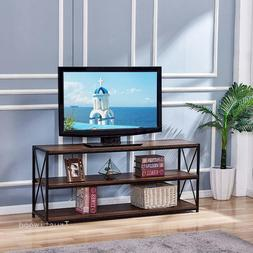 Organizer Finish TV Stand, Entertainment Center with Shelves