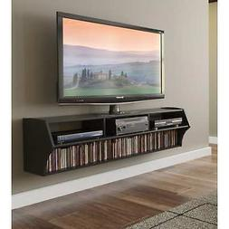 "Floating TV 58"" Wall Stand Mounted Entertainment Media DVD C"