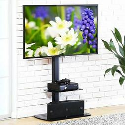 FITUEYES Floor TV Stand with Swivel Mount Height Adjustable