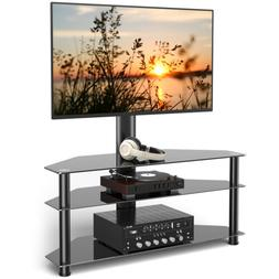 Floor TV Stand with Swivel Mount for 32 37 42 47 50 55 60 65