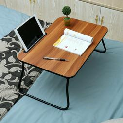 Folding Lap Desk Fan Portable Adjustable Steel Computer Tray