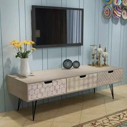 VidaXL <font><b>TV</b></font> Cabinet With 3 Drawers 120x40x