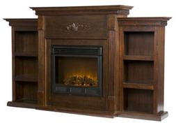 Holly & Martin Fredricksburg Electric Fireplace w/ Bookcases