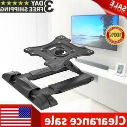 Full Motion TV Mount Rack Foldable TV Stand Swivel Tilt For