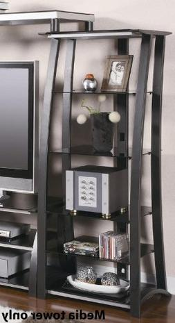 Coaster Furniture 700682 Open Media Tower with 5 Shelves 700