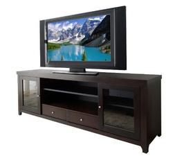 Abbyson Galvani Solid Oak TV Console