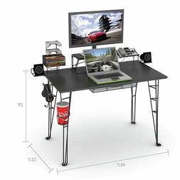"""Atlantic Gaming Desk Multi Function - 32"""" TV Stand, Chargi"""