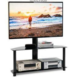 Gloss Floor TV Stand with Swivel Mount for 32 37 42 47 50 55
