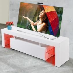 gloss white tv stand unit
