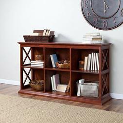 Belham Living Hampton TV Stand Bookcase - Cherry, Cherry