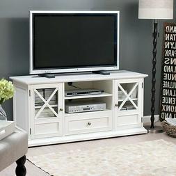 Belham Living Hampton TV Stand - White, White