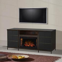 "Hastings Cabinet Espresso & 28"" Infrared Firebox"