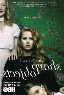 HBO Thriller TV Sharp Objects Fabric Print Art Poster 18x12