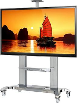 Mobile TV Stand Heavy Duty TV Cart for Massive LCD LED OLED