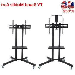 Heavy Duty TV Mobile Cart Stand Plasma LCD LED Flat Screen w