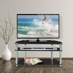 High Gloss 32 - 60'' TV Stand Unit Cabinet Console Table Med