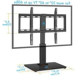 "HUANUO HN-TVS02 Tabletop Swivel TV Stand Fits 32 to 60 "" Tem"