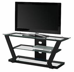 Monarch Specialties I 2588 Tv Stand-48 L Metal with Tempered