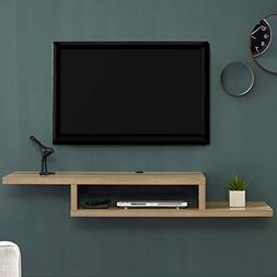 Martin Furniture  Asymmetrical Wall Mounted A/V Console, 60i