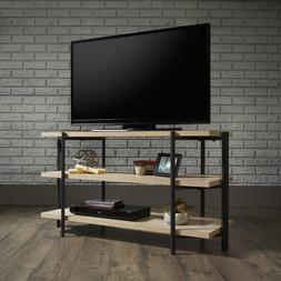 Industrial TV Stand Console Entertainment Unit Display Shelv