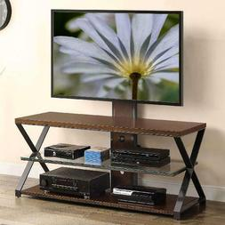 Jaxon 3 in 1 Cognac TV Stand for TVs up to 70