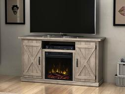 Comfort Smart Killian Electric Fireplace TV Stand, Ashland P